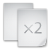 72x72px size png icon of files copy file