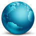 72x72px size png icon of network globe connected