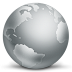 72x72px size png icon of network globe disconnected