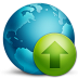 72x72px size png icon of network upload