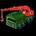 72x72px size png icon of 8 Wheel Crane