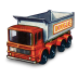 72x72px size png icon of 8 Wheel Tipper