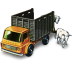 72x72px size png icon of Cattle Truck with Cattle