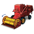72x72px size png icon of Combine Harvester with Movement