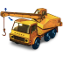 72x72px size png icon of Dodge Crane Truck with movement