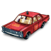 72x72px size png icon of Fire Chief Car
