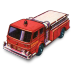 72x72px size png icon of Fire Pumper