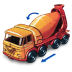 72x72px size png icon of Foden Concrete Truck with Movement