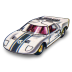 72x72px size png icon of Ford GT