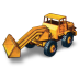 72x72px size png icon of Hatra Tractor Shovel
