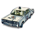 72x72px size png icon of Police Car