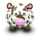 80x80px size png icon of CowBrownSpots