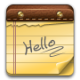 80x80px size png icon of note