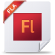 80x80px size png icon of fla
