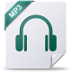 80x80px size png icon of mp 3