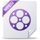 80x80px size png icon of mpeg