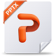 80x80px size png icon of pptx mac