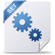 80x80px size png icon of settings