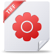 80x80px size png icon of tiff