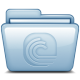 80x80px size png icon of Blue Bittorrent