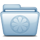 80x80px size png icon of Blue Limewire
