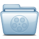 80x80px size png icon of Blue Movies