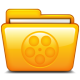 80x80px size png icon of Movies
