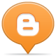 80x80px size png icon of social balloon blogger