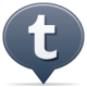 80x80px size png icon of social balloon tumblr