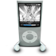 80x80px size png icon of iPodPhonesSilver