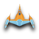80x80px size png icon of NabooStarFighter