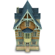 80x80px size png icon of Old House
