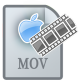 80x80px size png icon of MovieTypeMOV