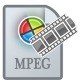 80x80px size png icon of MovieTypeMPEG