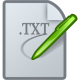 80x80px size png icon of Text