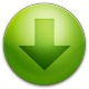 80x80px size png icon of alarm arrow down