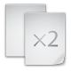 80x80px size png icon of files copy file