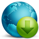 80x80px size png icon of network download