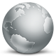 80x80px size png icon of network globe disconnected