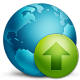 80x80px size png icon of network upload