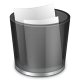 80x80px size png icon of start menu recycle bin full