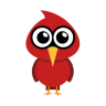 96x96px size png icon of cardinal