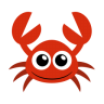 96x96px size png icon of crab