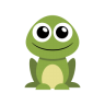 96x96px size png icon of frog