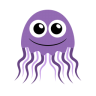 96x96px size png icon of jellyfish