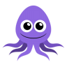 96x96px size png icon of octopus