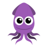 96x96px size png icon of squid