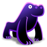 96x96px size png icon of Gorilla