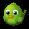 96x96px size png icon of Adium Bird Awake
