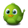 96x96px size png icon of Adium Bird Connecting